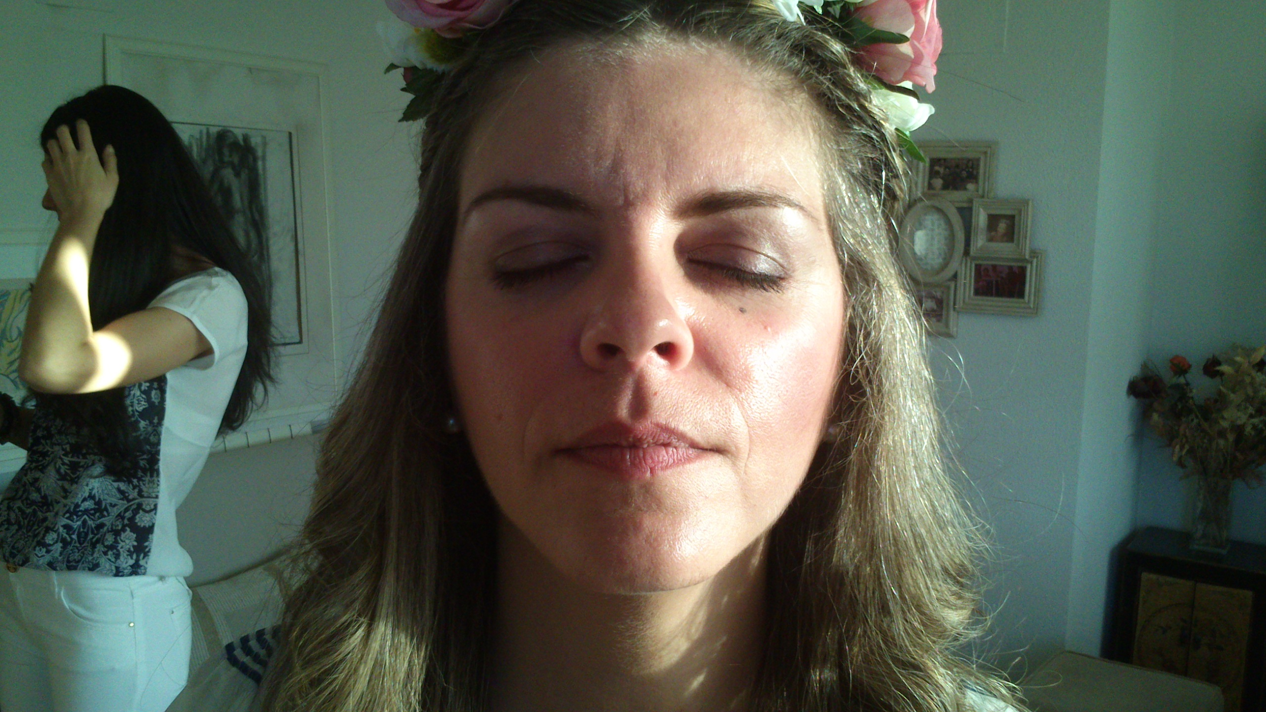 Maquillaje de Cris